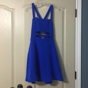 Express Cobalt Blue Dress Size 2
